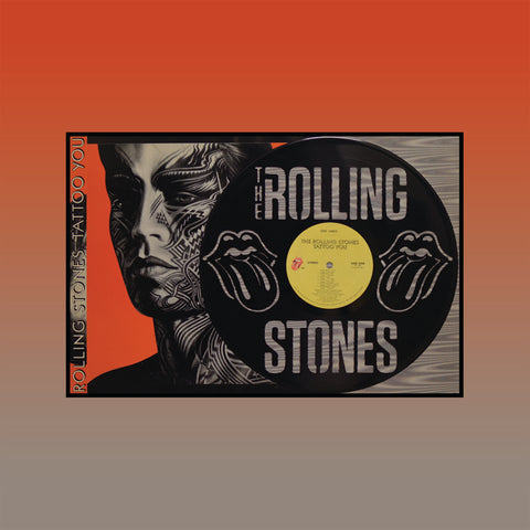 Rolling Stones - Tattoo You ~ Limited Run Original Carved Vinyl & Album Cover