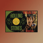 Rolling Stones - Too Much Blood ~ Limited Run Original Carved Vinyl & Album Cover