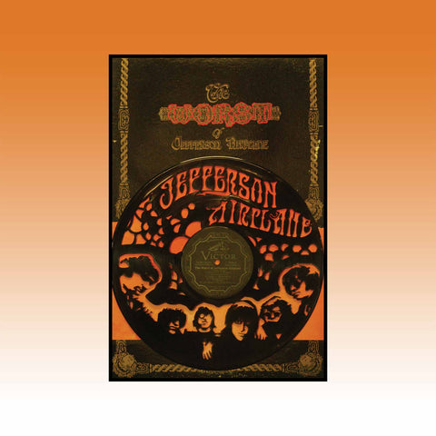 Jefferson Airplane ~ Worst of Jefferson Airplane ~ Limited Run Original Carved Vinyl & Album Cover