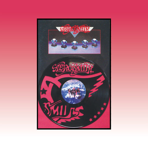 Aerosmith - Rocks ~ Limited run 12x18 Original Album Cover