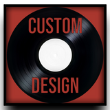Custom Carved Astro Vinyl Art - Finishing Options