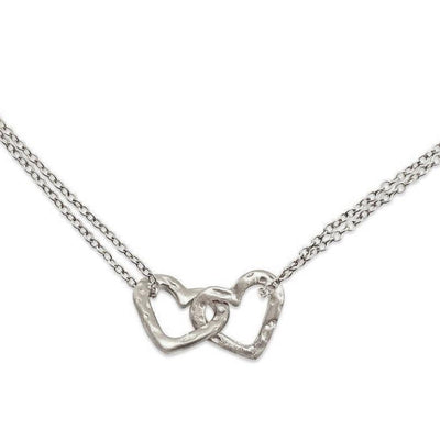 Heart Loveknot necklace
