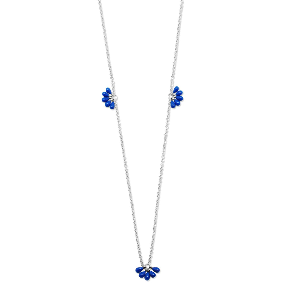 Enamel Cluster Necklace