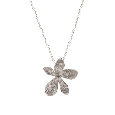 Large Everlee Silver Necklace
