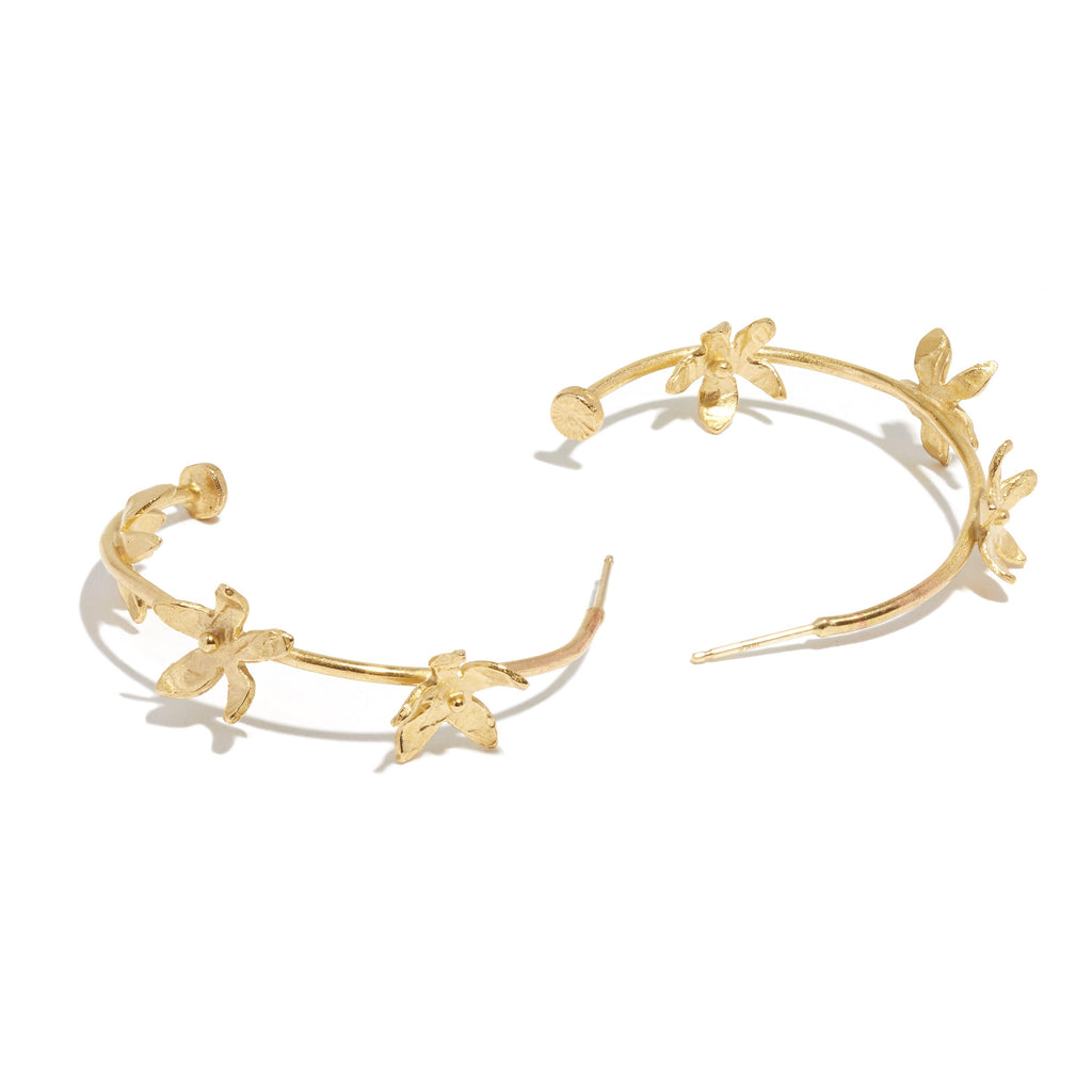 Everlee Small Hoop Earrings - Handmade