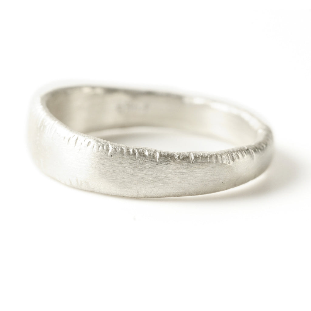 Men's Platinum Gradient Ring