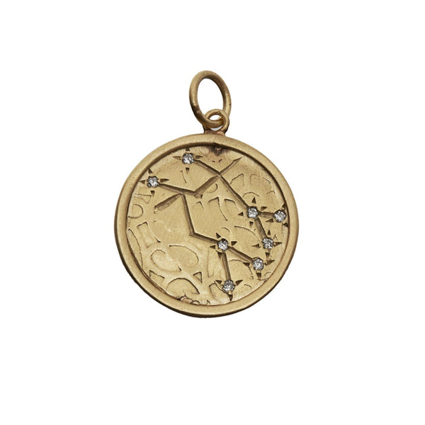 Personalized Calendar and Constellation Necklace