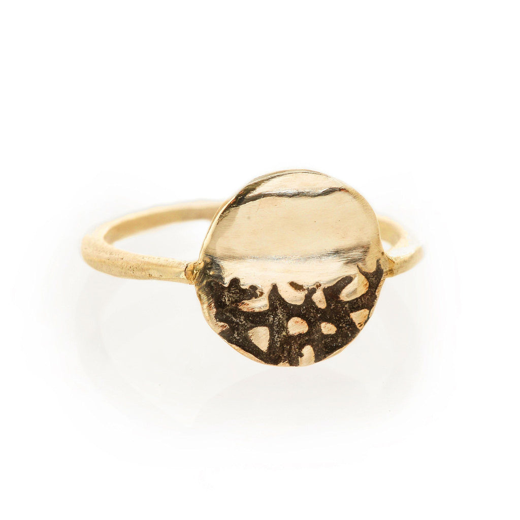 Olivia - Custom Gold Ring