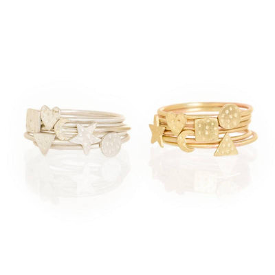 Teeny Tiny - Custom Made Gold Rings
