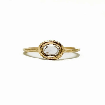 Rosecut Diamond Ring
