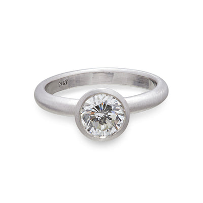 Platinum window ring