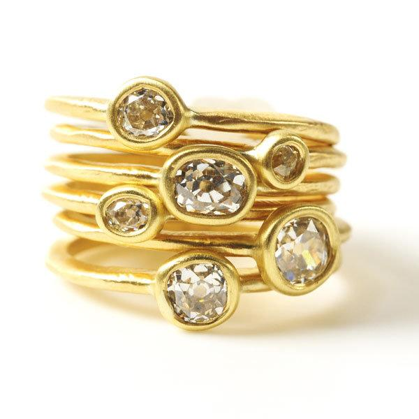 Custom Bridal Rings in 18KT Gold - Custom Engagement Rings Online