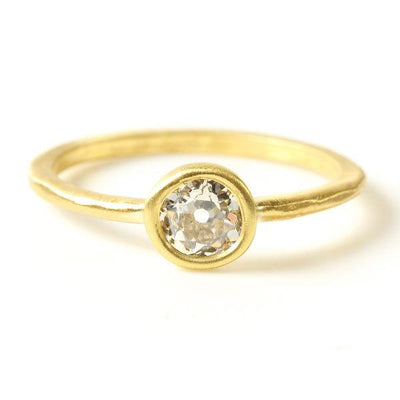 Custom Bridal Rings in 18KT Gold