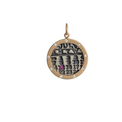 Personalized Calendar Charms for Mom