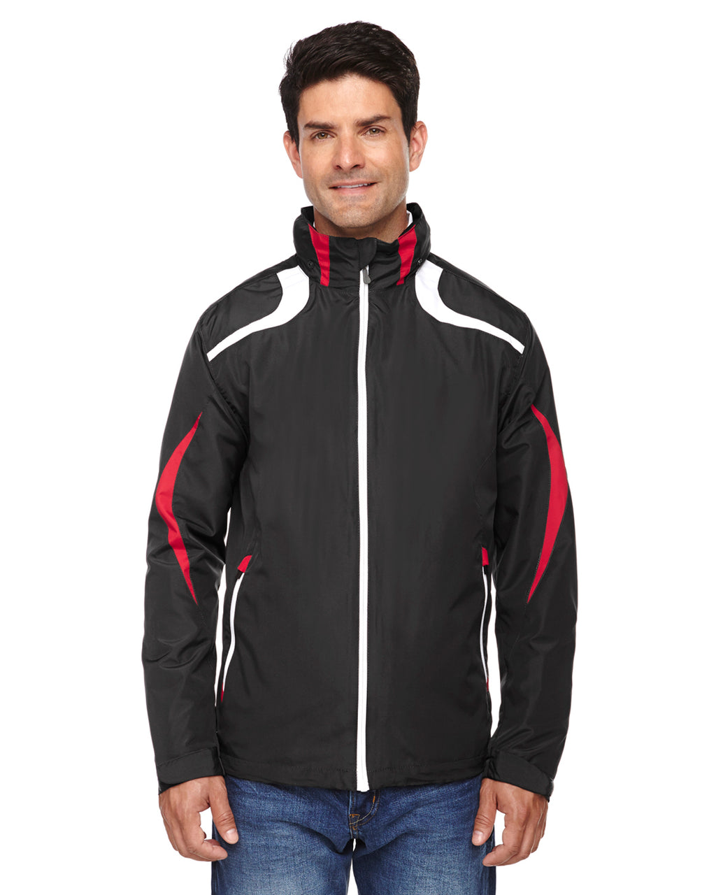 88644 Ash City - North End Men's Impact Active Lite Colorblock Jacket