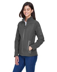 78060 - North End Ladies' Three-Layer Fleece Bonded Soft Shell Technical Jacket