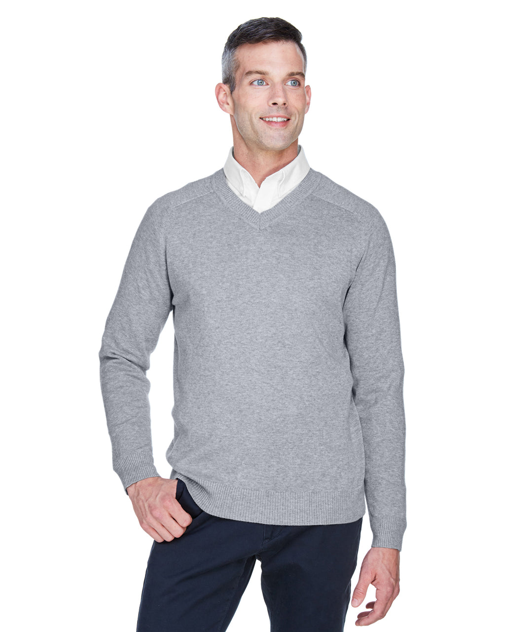 D475Prime Devon & Jones Men's V-Neck Sweater
