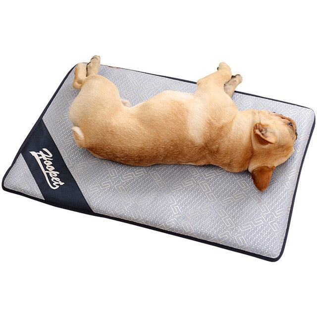 French Bulldog Summer Cooling Mat with Anti Damp Foam - Multiple Sizes