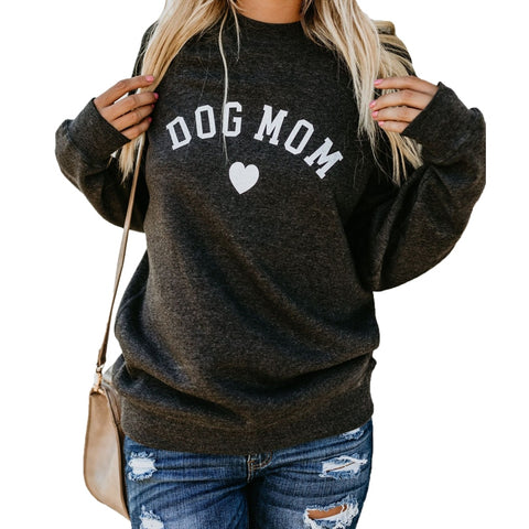 Dog Mom Casual Sweater