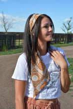 Load image into Gallery viewer, Diamond Boho Scarf in Rust