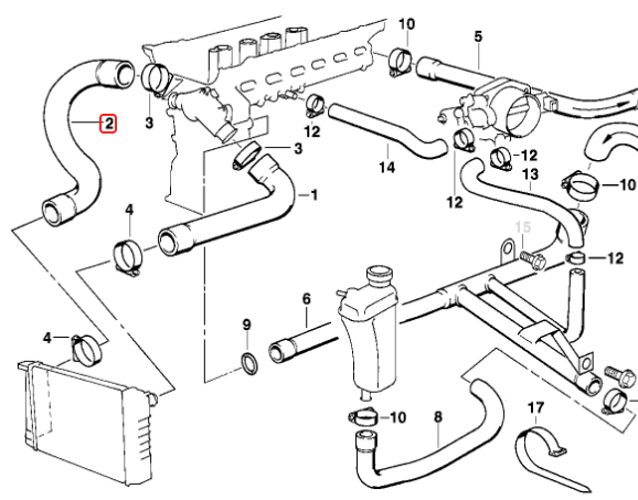 BMW E36 M3 Cooling Diagram Wiring Diagrambmw \- Tagged \\\cooling System\\\ 354 Auto Partscoolant Hose Lower: BMW M3 Trailer Wiring Diagram At Johnprice.co