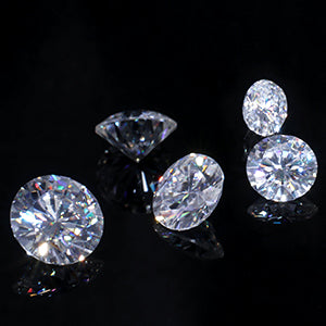 How to tell moissanite from diamond and zircon?