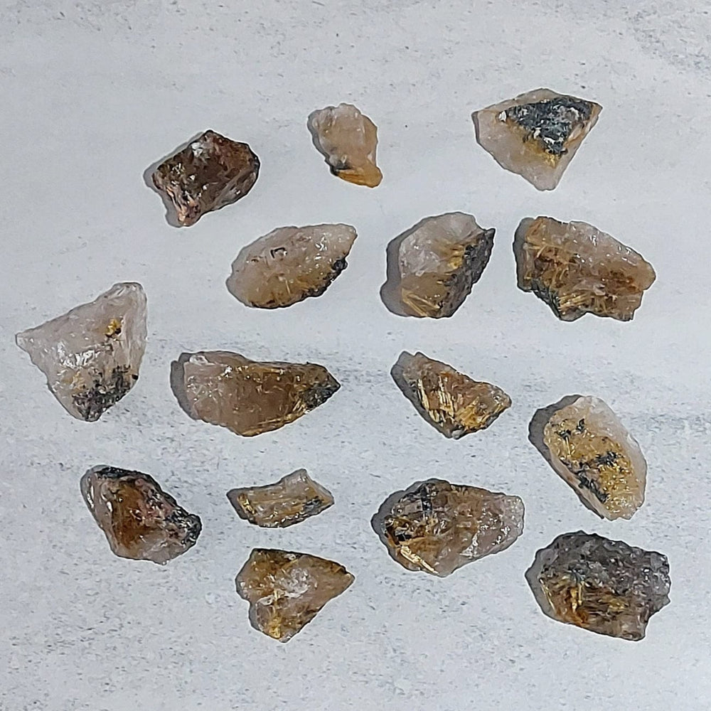 Crystals - Rough - Rutilated Quartz