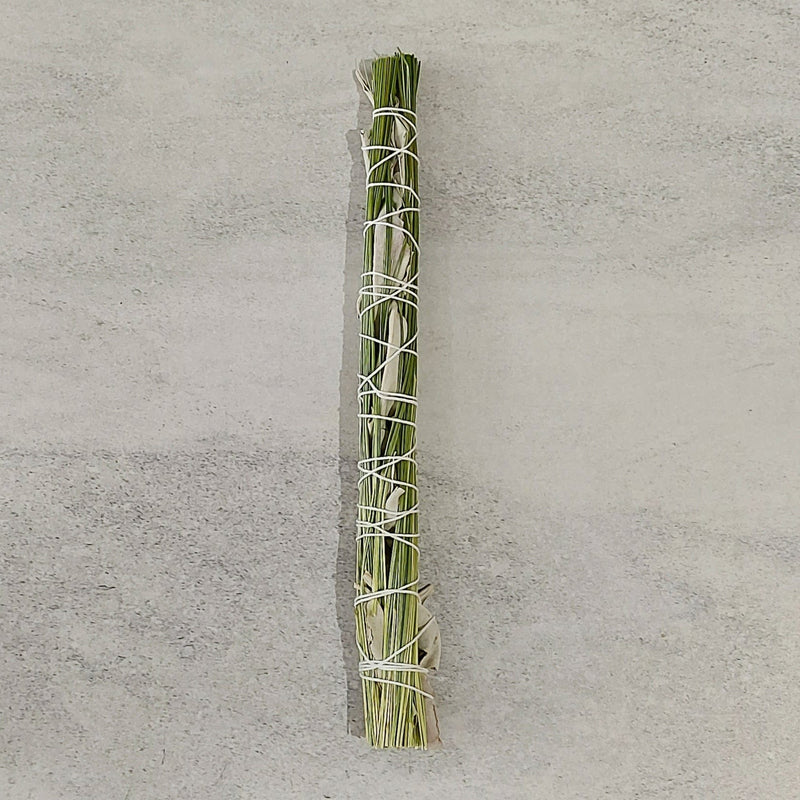 Smudging stick - White Sage with Sweetgrass