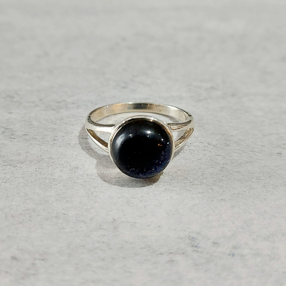 Rings - Blue Goldstone - No.127