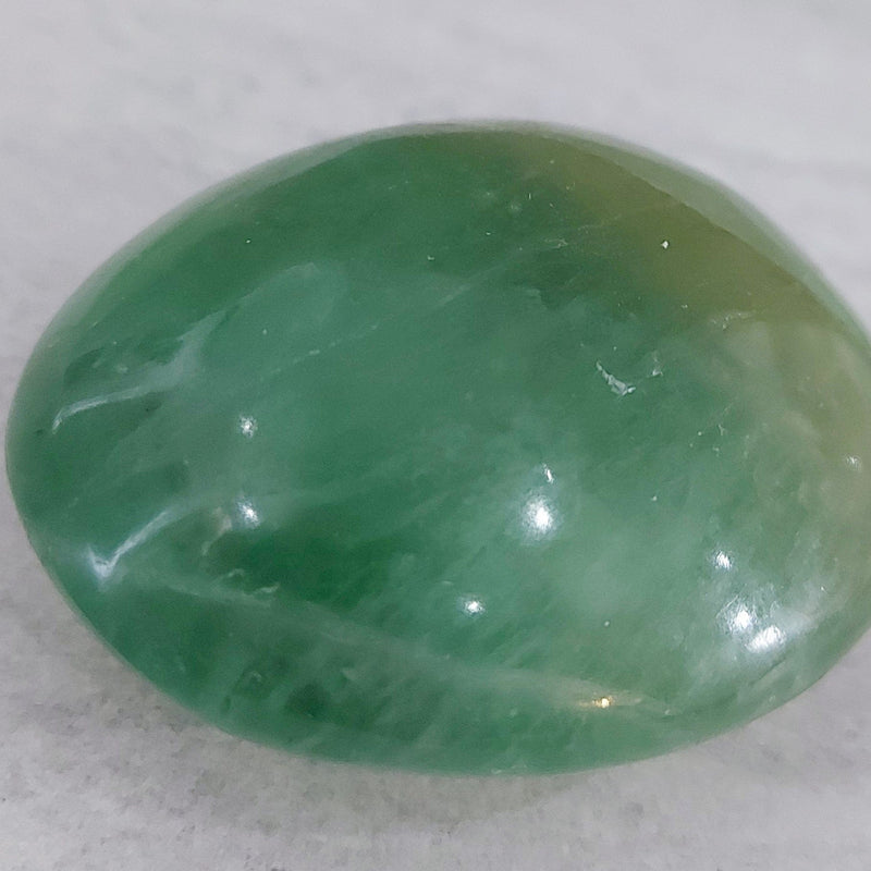 Green Fluorite | Palm Stone (free form)