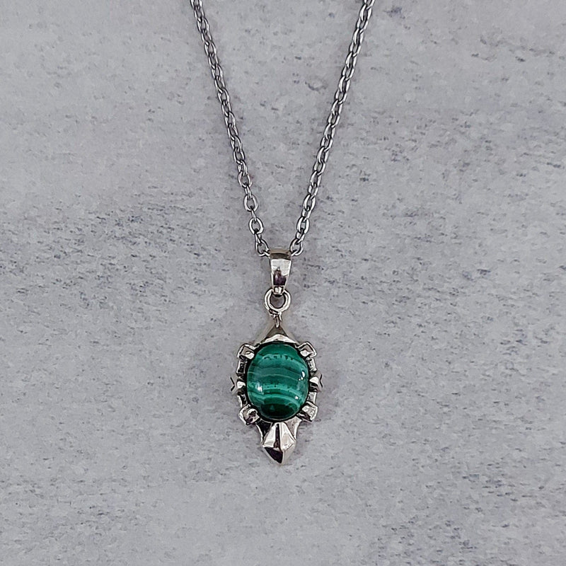 Pendant | Malachite | No.P369