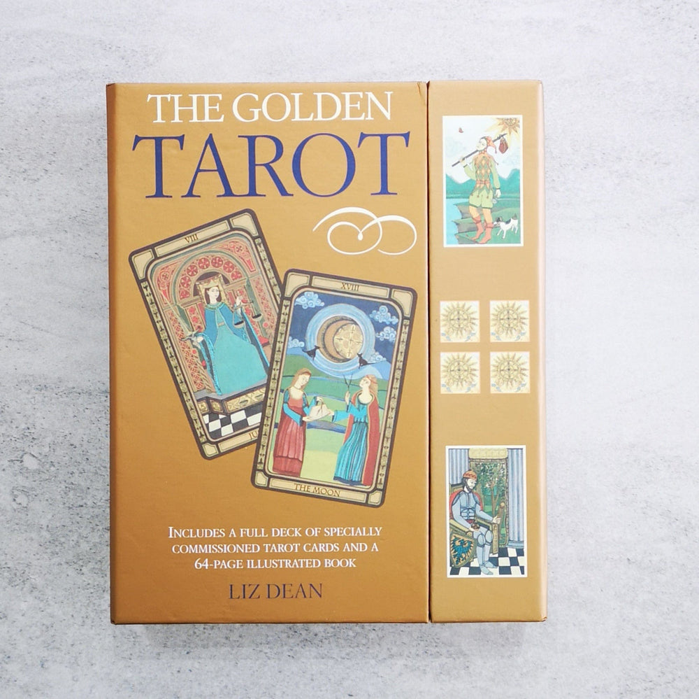 Tarot cards - The Golden Tarot