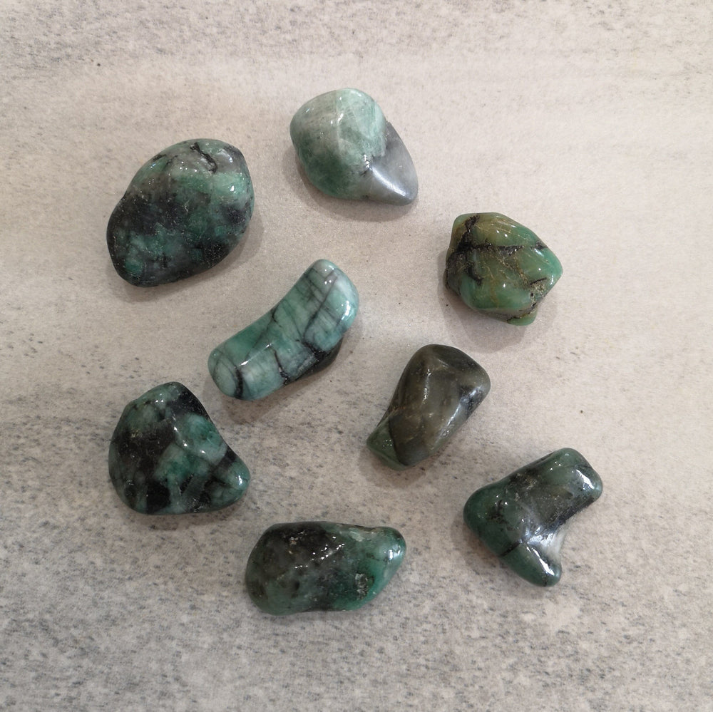 Crystals - Tumbled -  Emerald