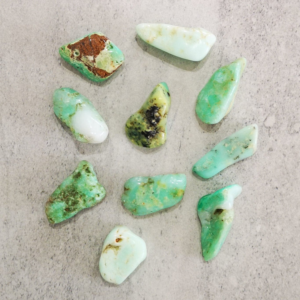 Crystals - Tumbled - Chrysoprase