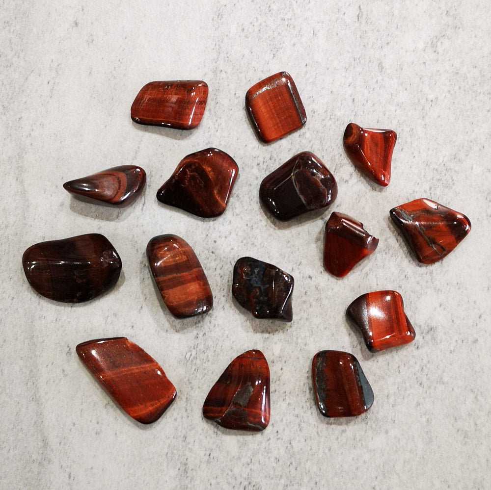 Crystals - Tumbled - Red Tiger's Eye