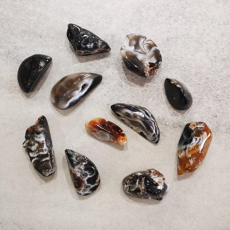Crystals - Tumbled - Window Natural Agate