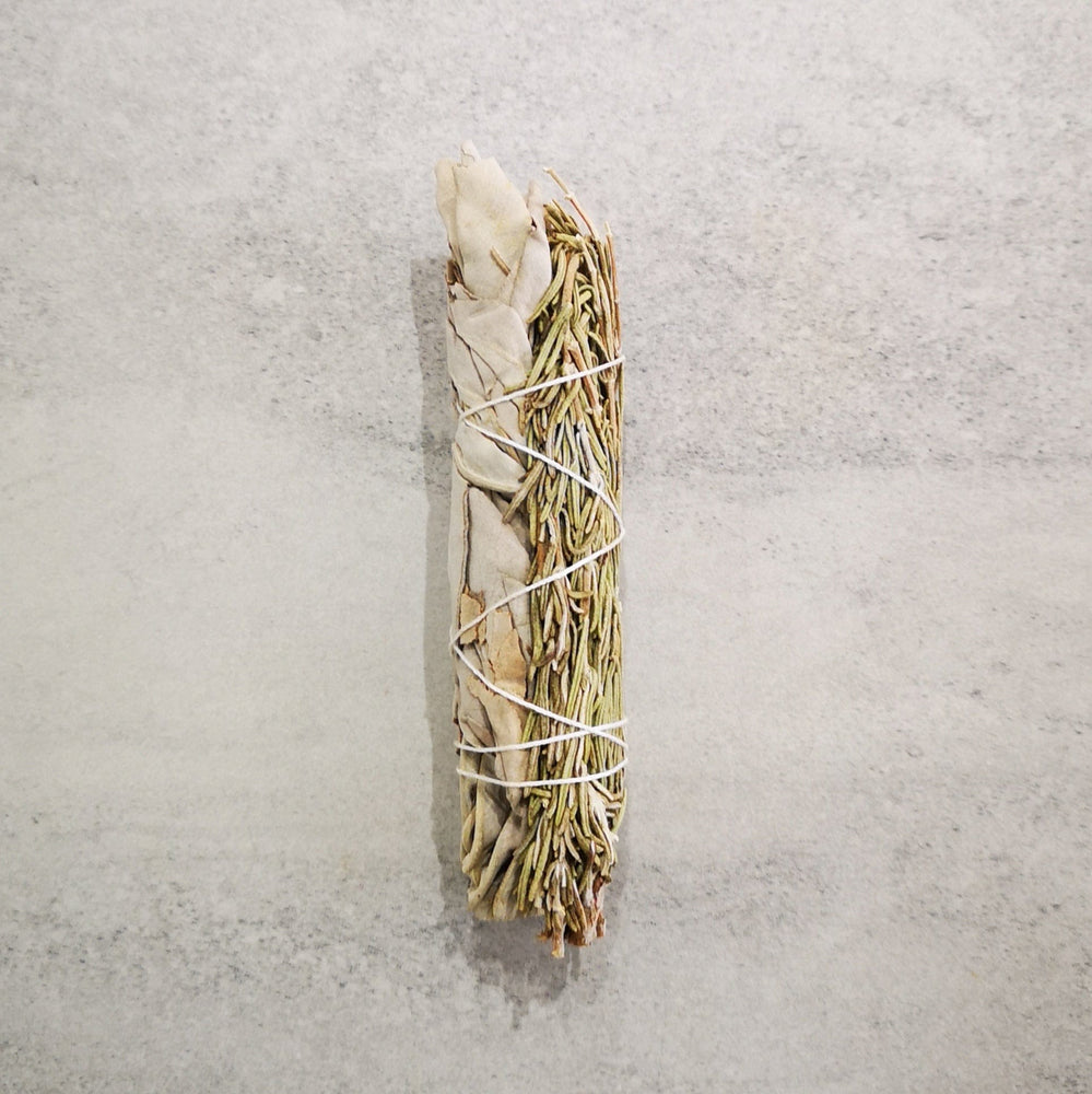 Smudging stick - White Sage with Rosemary