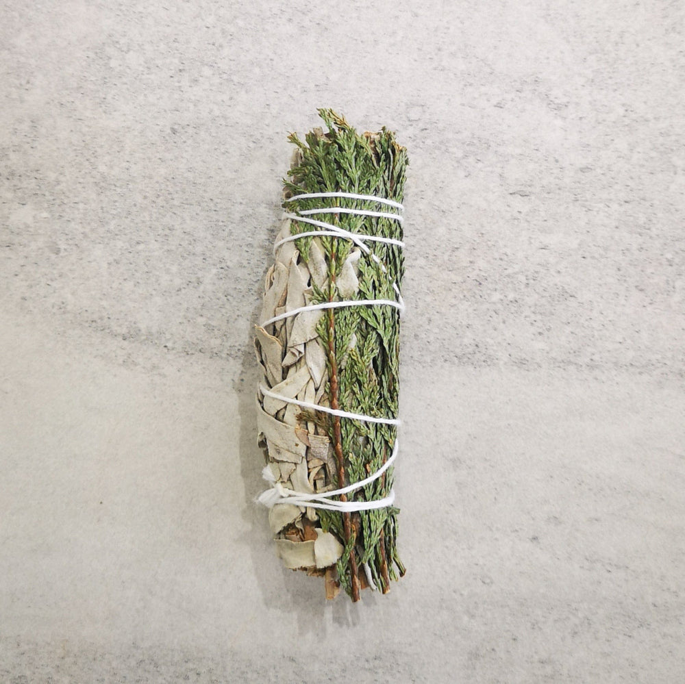 Smudging stick - White Sage with Cedar