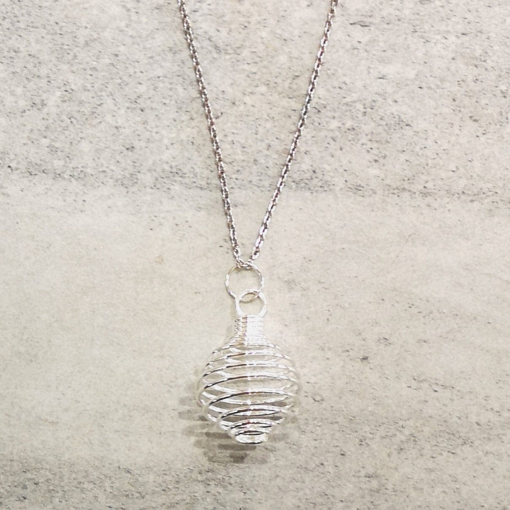Necklace - Crystal Cage