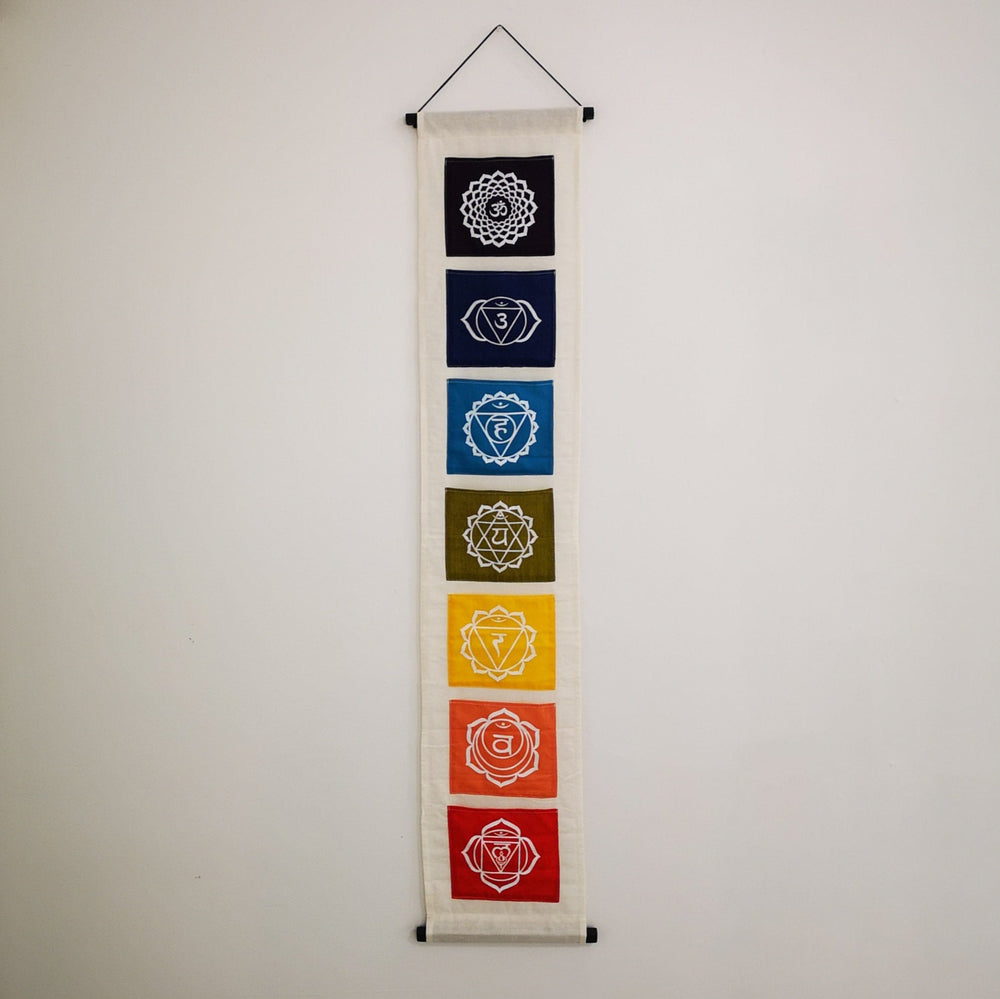 Decoration - 7 Chakras Banner