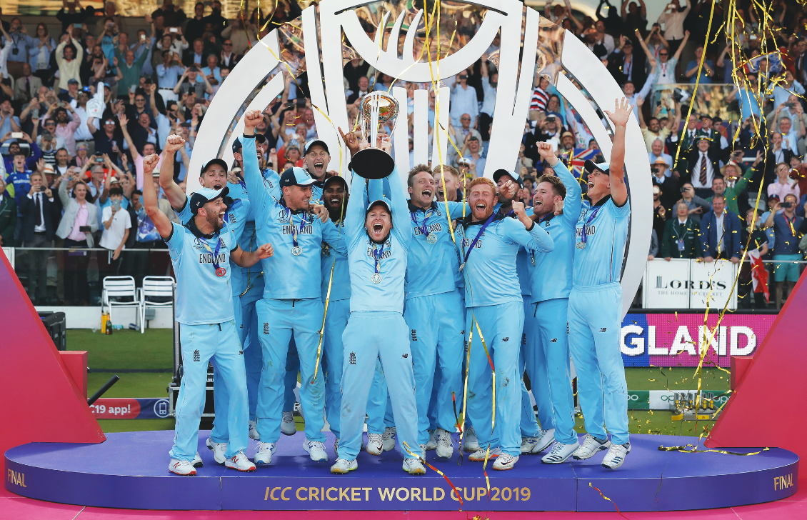 England's Cricket World Cup final victory