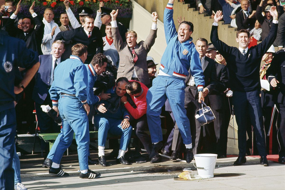 Euphoria at the 1966 World Cup