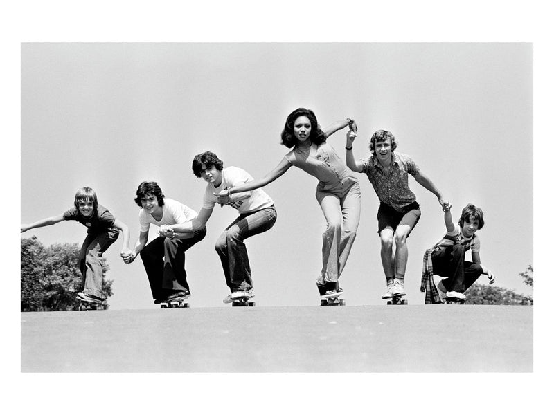 Fashion on skateboards, June 1976