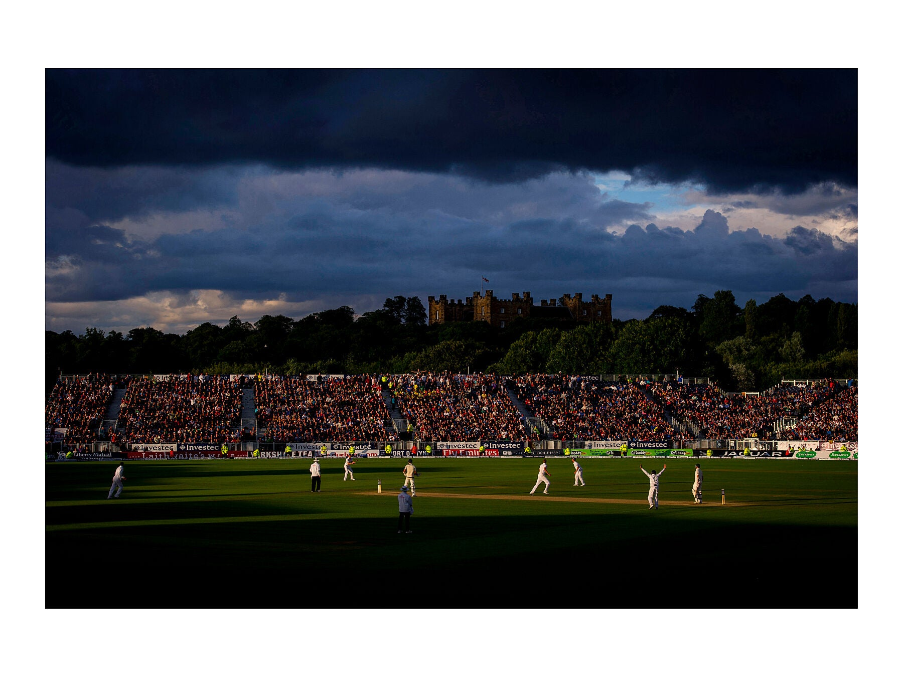 England win the Ashes, Durham – 12 August 2013