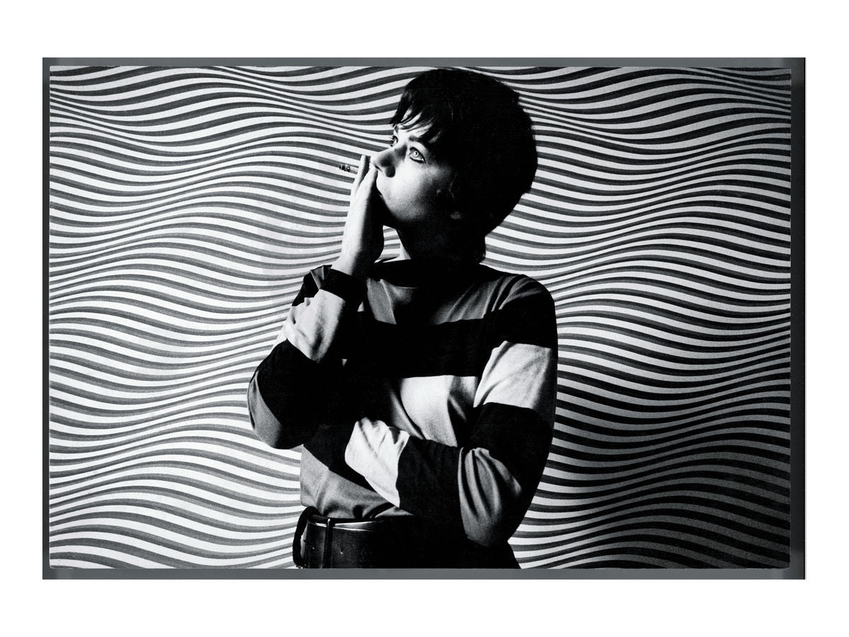 Bridget Riley, 25 May 1969