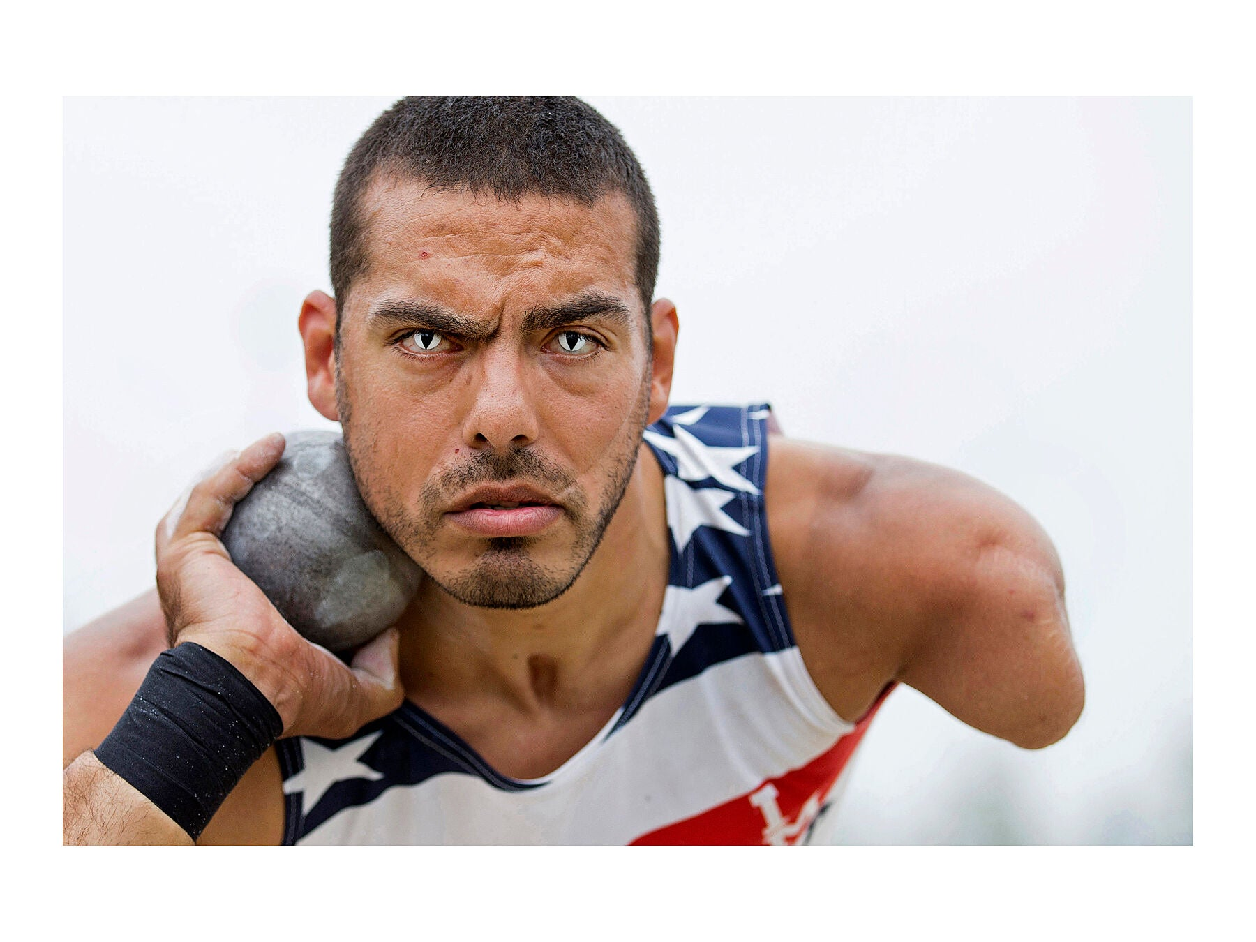Michael Kacer, Invictus Games, Lee Valley Athletics Centre – 11 September 2014