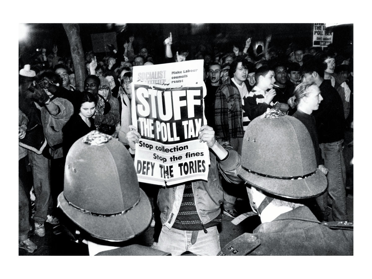Anti-poll tax demonstration, 1990