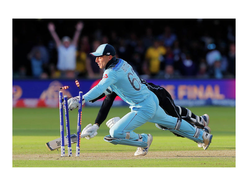 Jos Buttler whips off the bails and wins England the World Cup