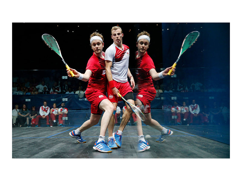 Men's squash final, Glasgow Commonwealth Games – 28 July 2014