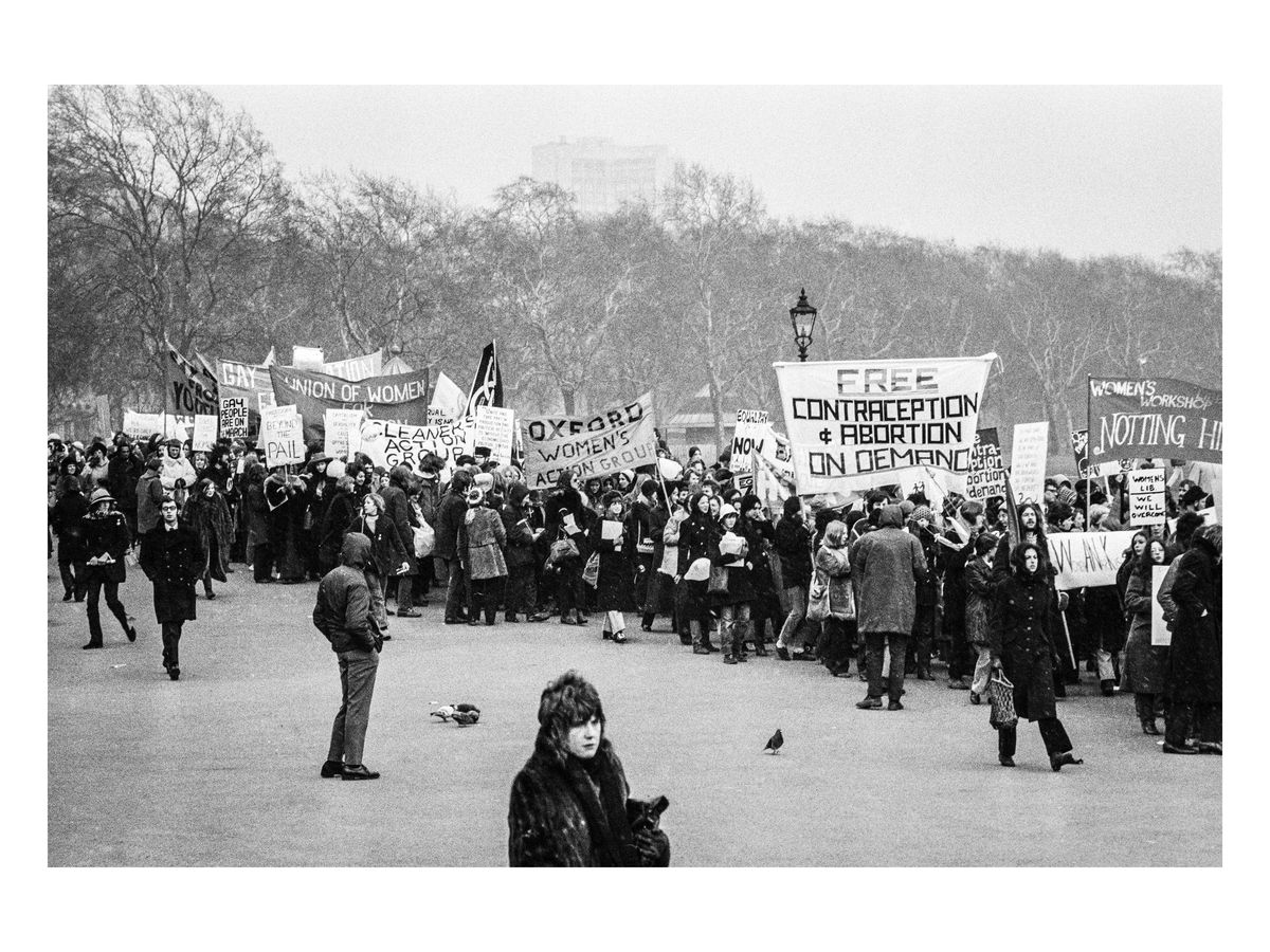 Speaker's Corner to Trafalgar Square, 1971